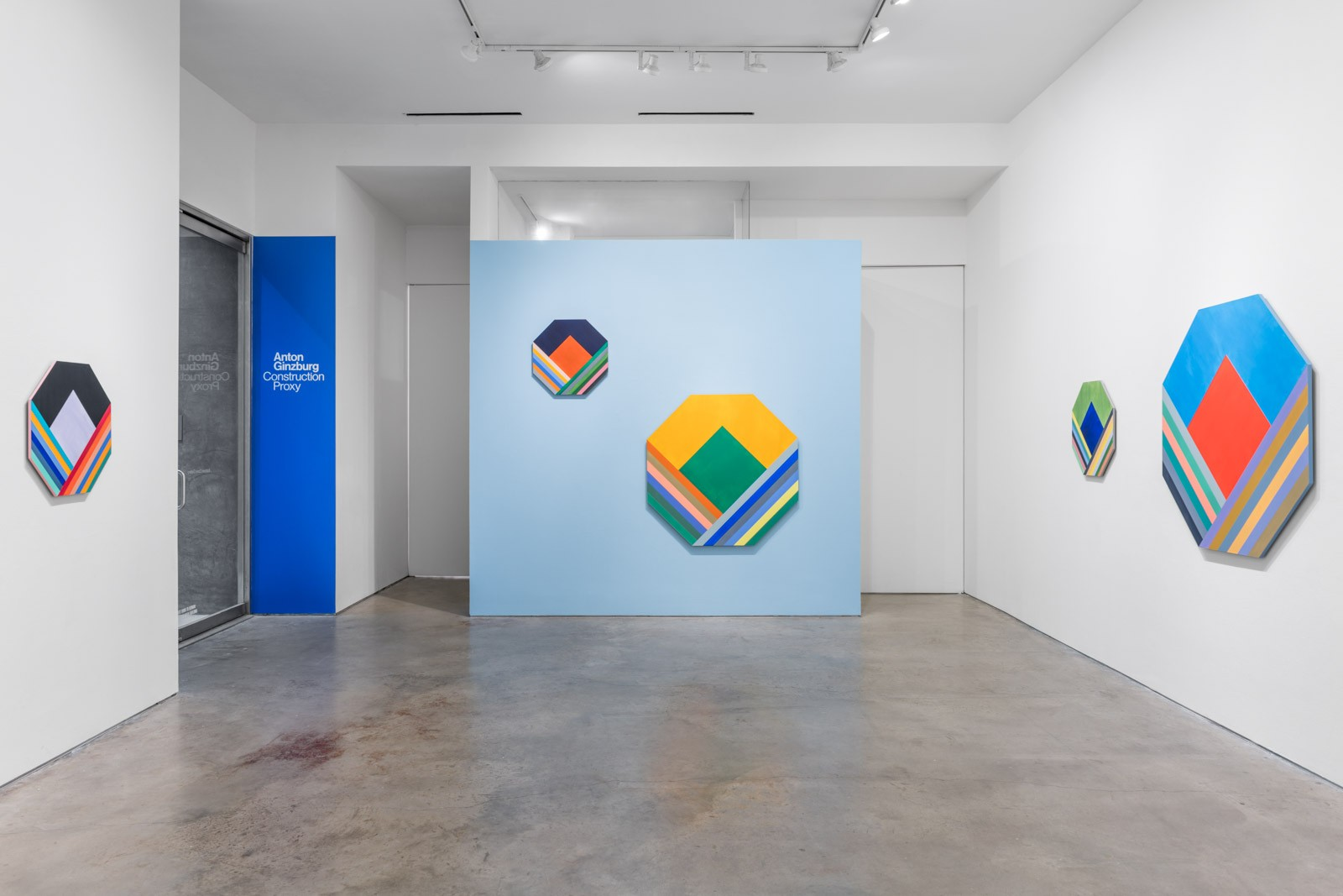 Installation view at Barbara Davis Gallery